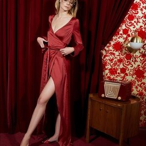 for love and lemons limited edition red dress